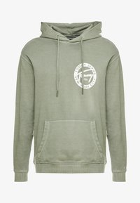 Tommy Jeans - GRAPHIC WASHED  - Mikina skapucí - green - 4