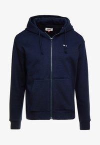 Tommy Jeans - CLASSICS ZIPTHRU - veste en sweat zippée - blue - 4