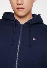 Tommy Jeans - CLASSICS ZIPTHRU - veste en sweat zippée - blue - 5