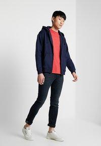Tommy Jeans - CLASSICS ZIPTHRU - veste en sweat zippée - blue - 1