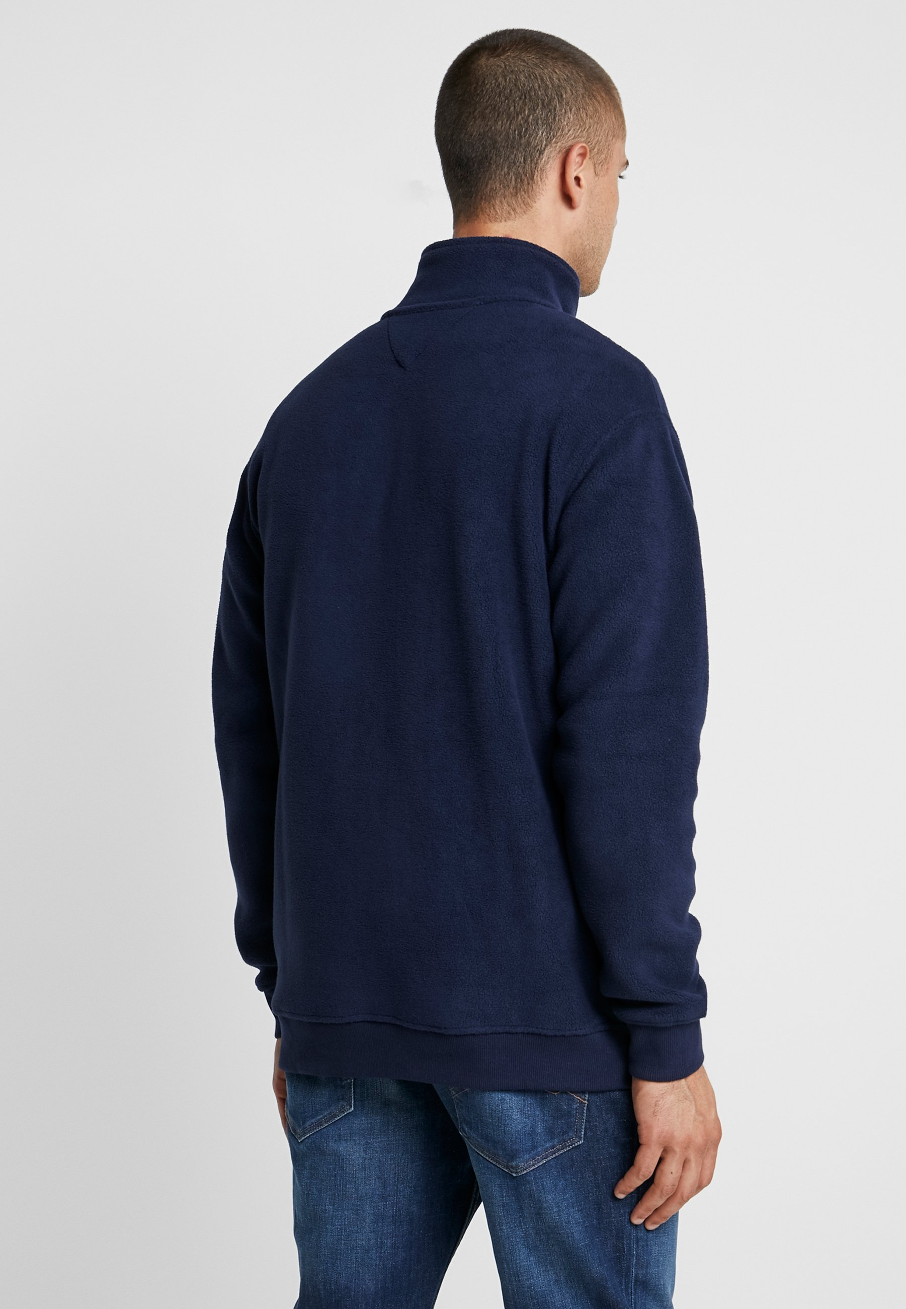 Mock Jeans Polar Dark NeckSweat Tommy Blue Polaire nwPkNZ0OX8