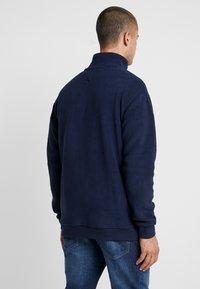 Tommy Jeans - POLAR MOCK NECK - Fleece trui - dark blue - 2