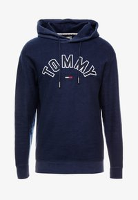 Tommy Jeans - REVERSED HOODIE - Sweat à capuche - black iris - 3