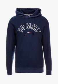 Tommy Jeans - REVERSED HOODIE - Hoodie - black iris - 3