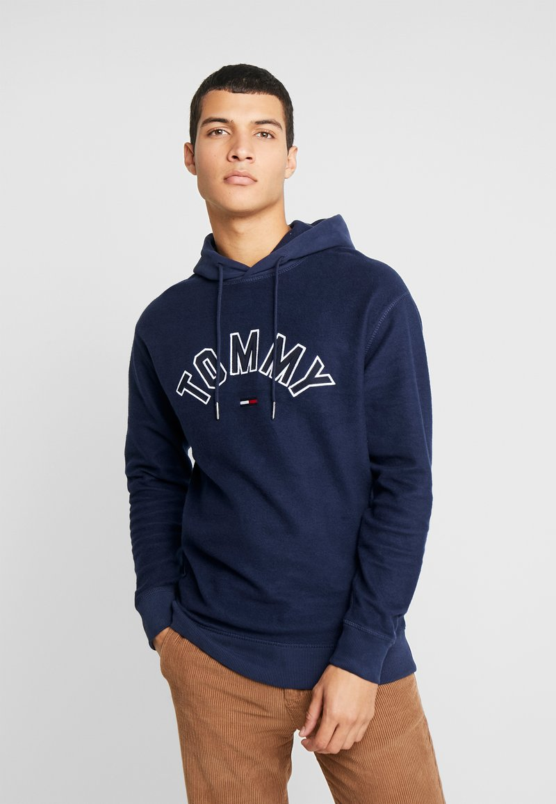 Tommy Jeans - REVERSED HOODIE - Sweat à capuche - black iris