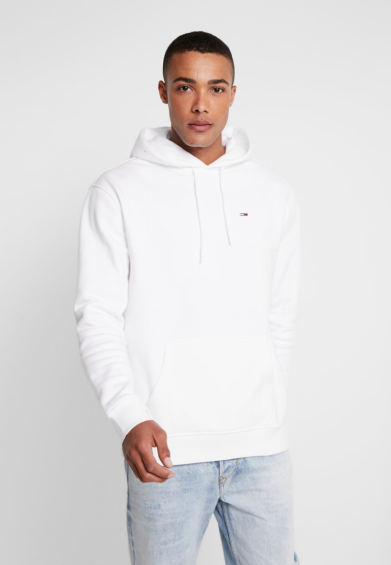 Tommy Jeans - CLASSICS HOODIE - Hættetrøjer - classic white