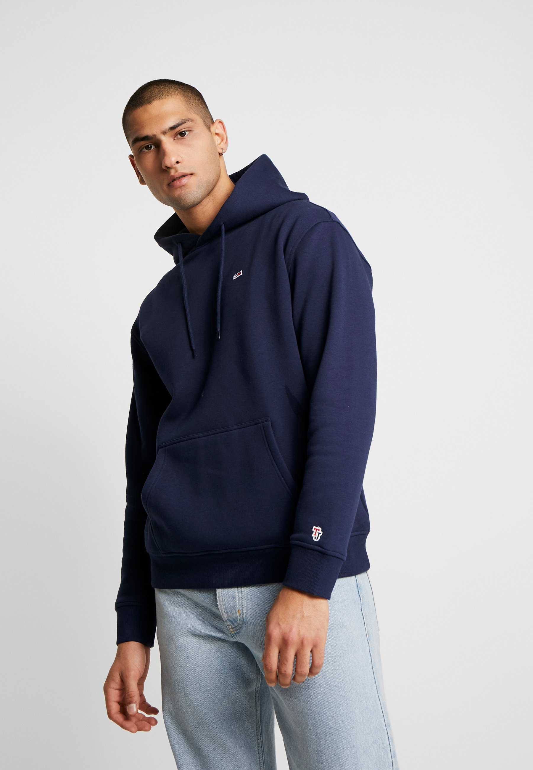 Tommy Jeans CLASSICS HOODIE - Bluza z kapturem - dark blue
