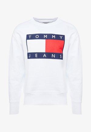 FLAG CREW - Sweatshirt - classic white