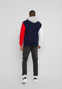 Tommy Jeans - COLORBLOCK CLASSICS HOODIE - Hoodie - black iris/multi - 2