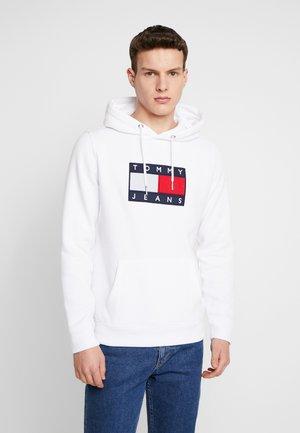 FLAG HOODIE - Hoodie - white