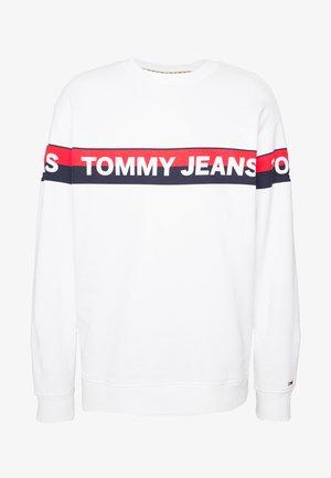 BAND LOGO CREW - Sweatshirt - white