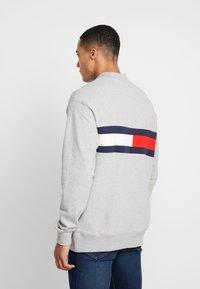 Tommy Jeans - FLAG PANEL - Sweatshirt - light grey - 2