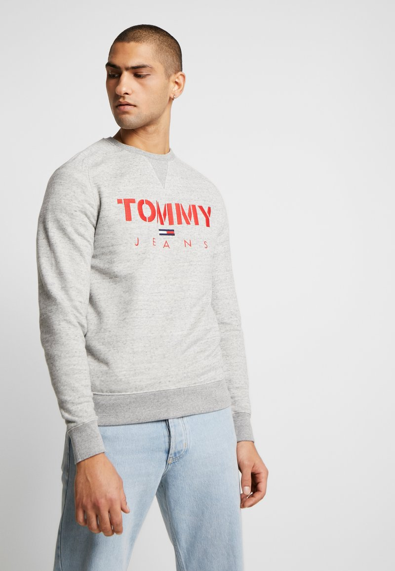 Tommy Jeans - CREW - Sweatshirt - grey