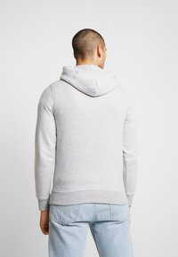 Tommy Jeans - STRAIGHT SMALL LOGO HOODIE - Hoodie - light grey heather - 2