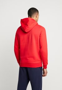 Tommy Jeans - STRAIGHT SMALL LOGO HOODIE - Hoodie - racing red - 2