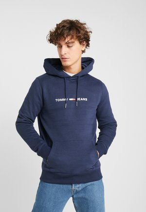 STRAIGHT SMALL LOGO HOODIE - Sweat à capuche - dark blue