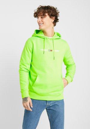 NEON SMALL LOGO HOODIE - Hoodie - green geco