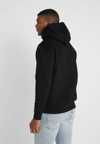 Tommy Jeans - REFLECTIVE FLAG HOODIE - Sweat à capuche - tommy black - 2