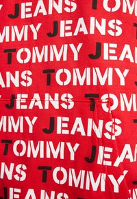 Tommy Jeans - ALL OVER HOODIE - Hoodie - racing red - 5