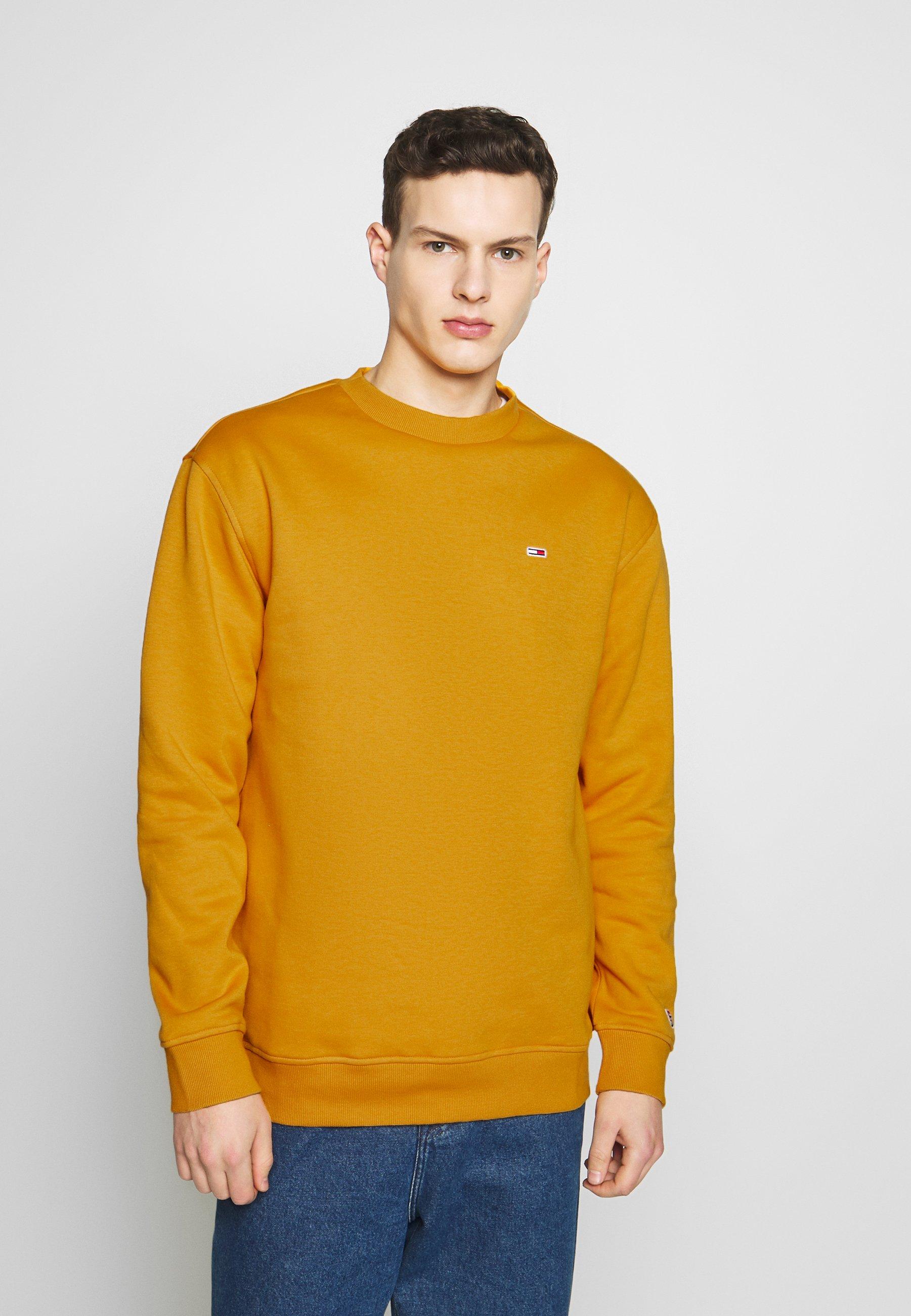 Tommy Jeans CLASSICS CREW - Bluza - golden glow