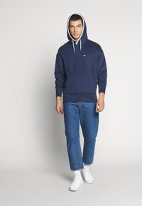 Tommy Jeans - BRANDED HOODIE - Hoodie - twilight navy - 1