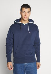Tommy Jeans - BRANDED HOODIE - Sweat à capuche - twilight navy - 0