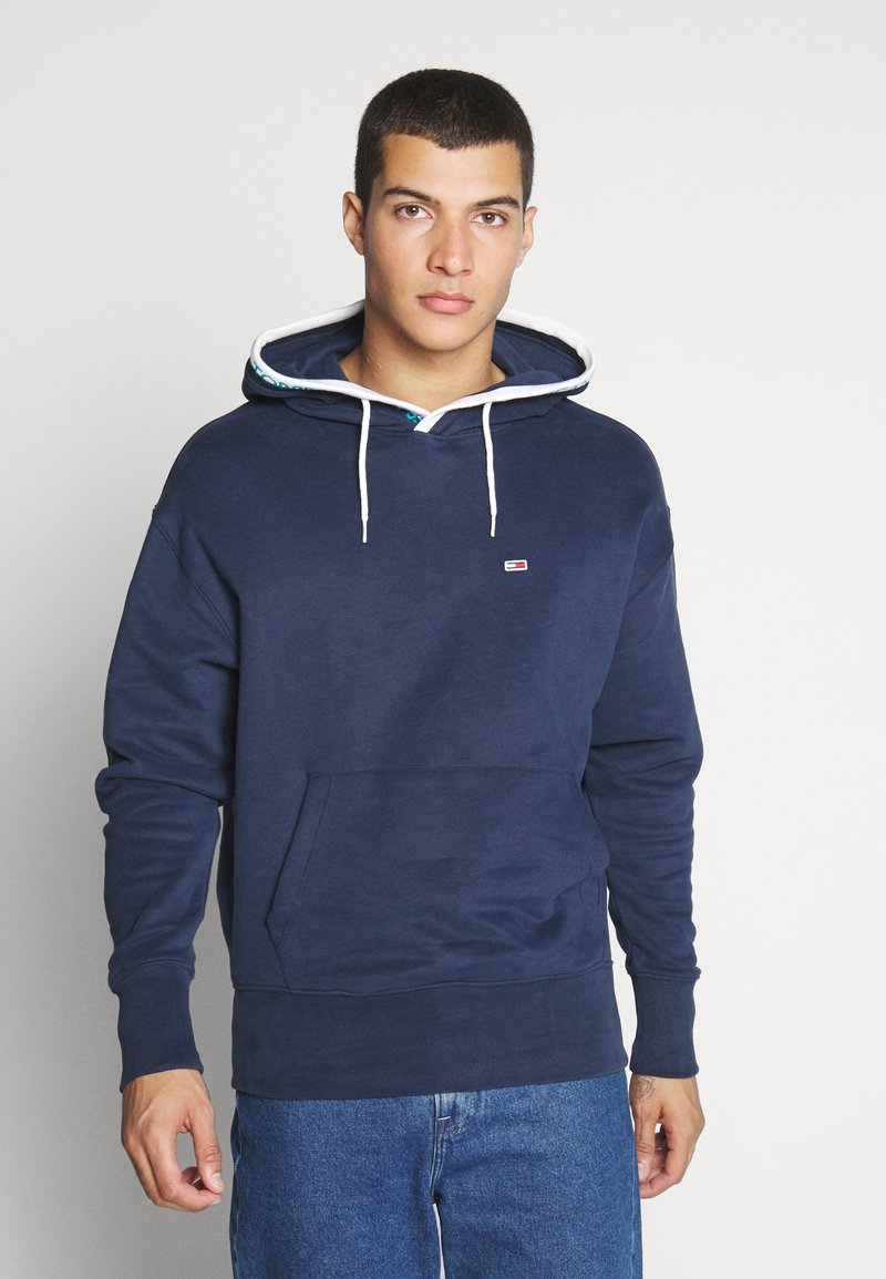Tommy Jeans - BRANDED HOODIE - Sweat à capuche - twilight navy