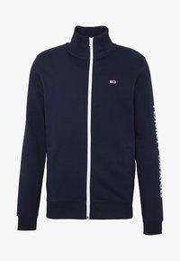 Tommy Jeans - ESSENTIAL TRACK JACKET - Zip-up hoodie - twilight navy - 3