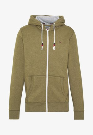 ZIPTHROUGH - veste en sweat zippée - uniform olive