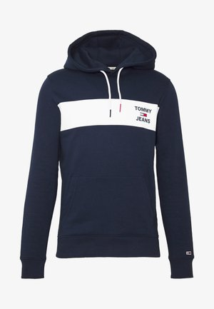 TJM ESSENTIAL GRAPHIC HOODIE - Mikina s kapucí - twilight navy