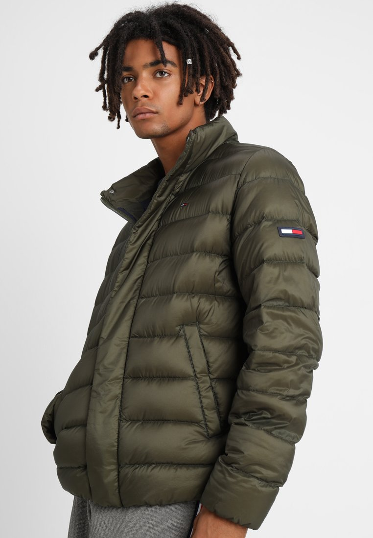Tommy Jeans - LIGHT - Down jacket - green