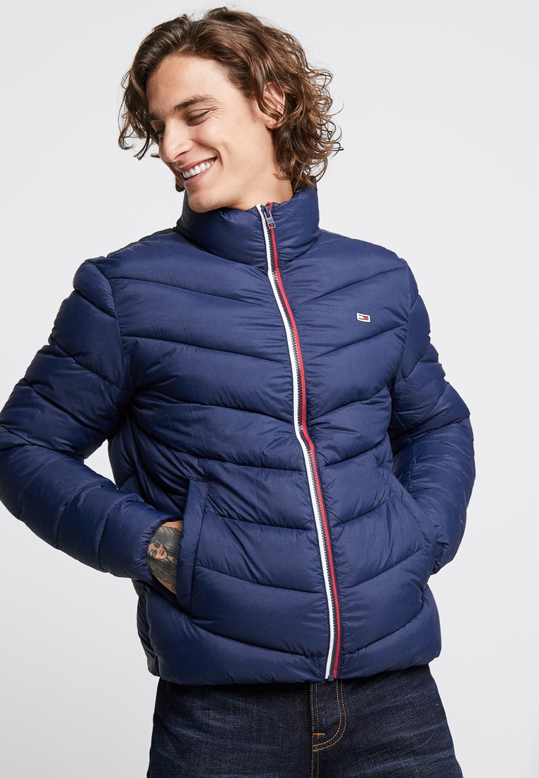 Tommy Jeans - ESSENTIAL PUFFER  - Winter jacket - blue
