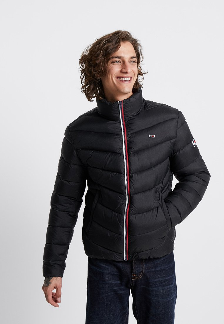 Tommy Jeans - ESSENTIAL PUFFER  - Winter jacket - black