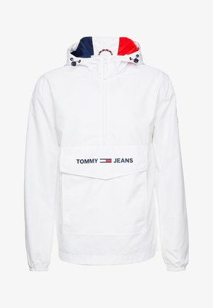 TJM LIGHT WEIGHT POPOVER - Veste coupe-vent - white