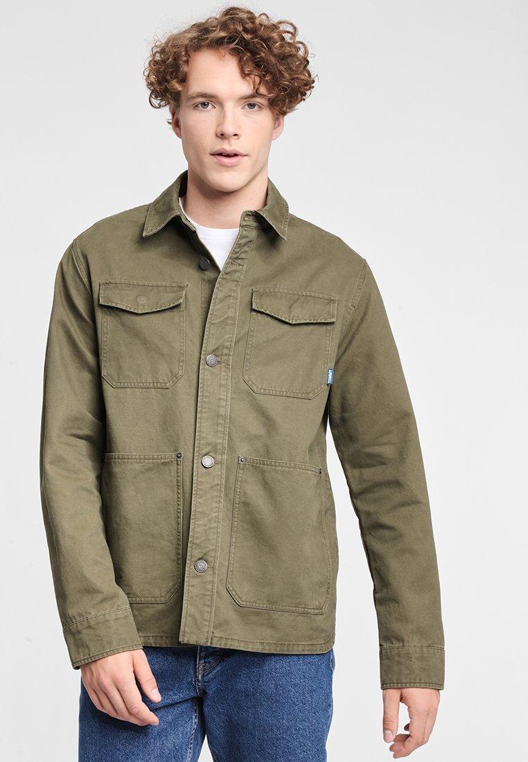 Tommy Légère Green Jeans Cargo JacketVeste OXkZiPu