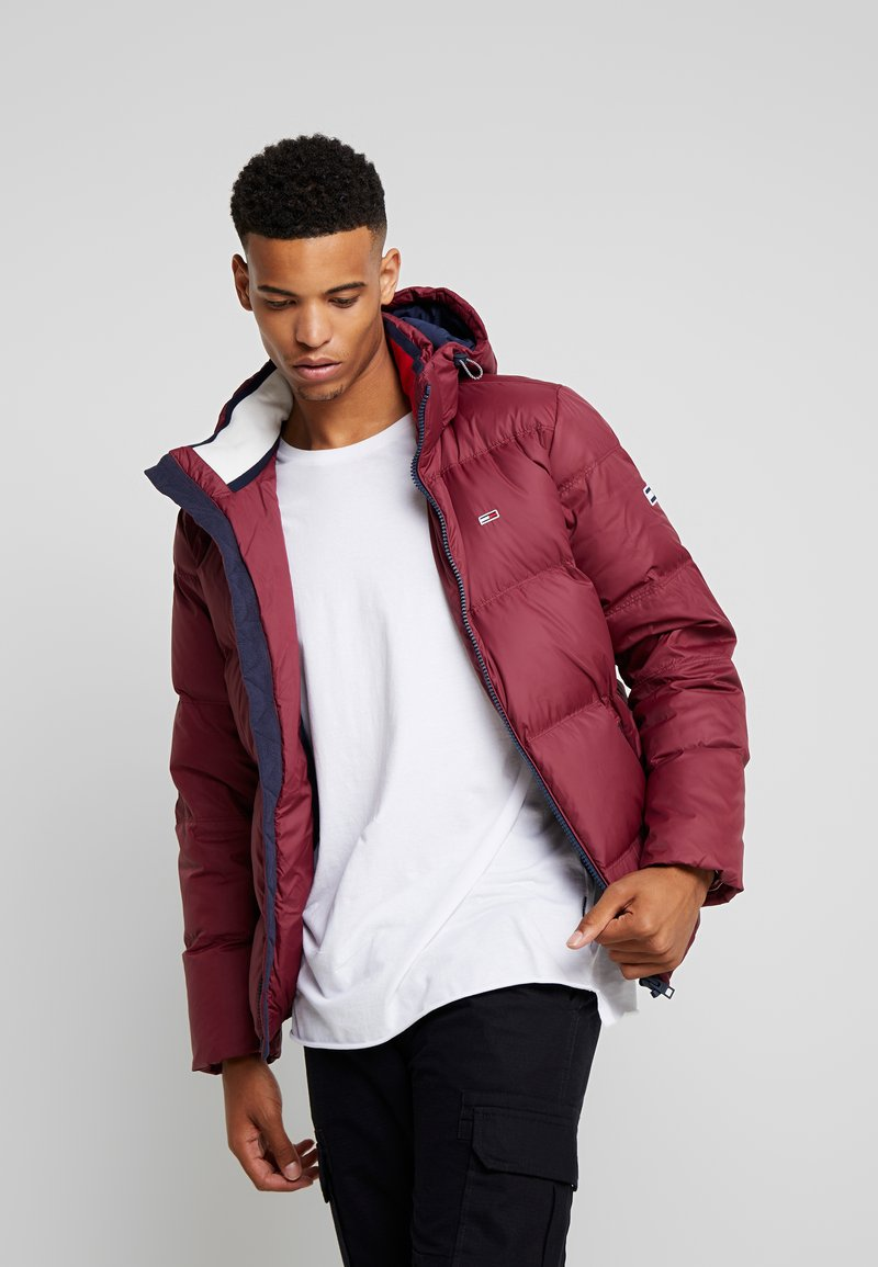 Tommy Jeans - ESSENTIAL JACKET - Down jacket - burgundy