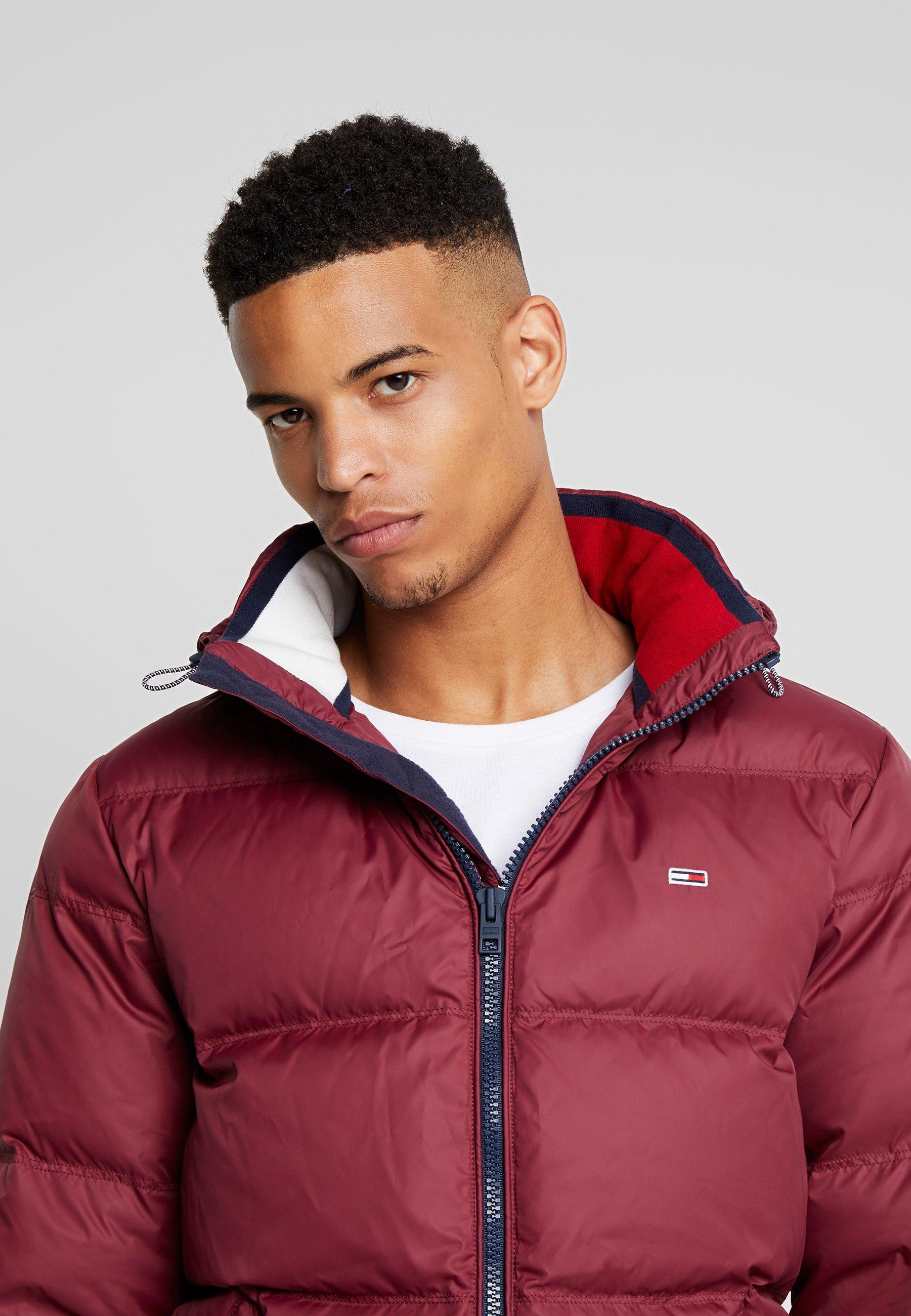 Tommy Jeans ESSENTIAL JACKET - Down jacket - burgundy