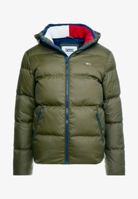 Tommy Jeans - ESSENTIAL JACKET - Gewatteerde jas - forest night