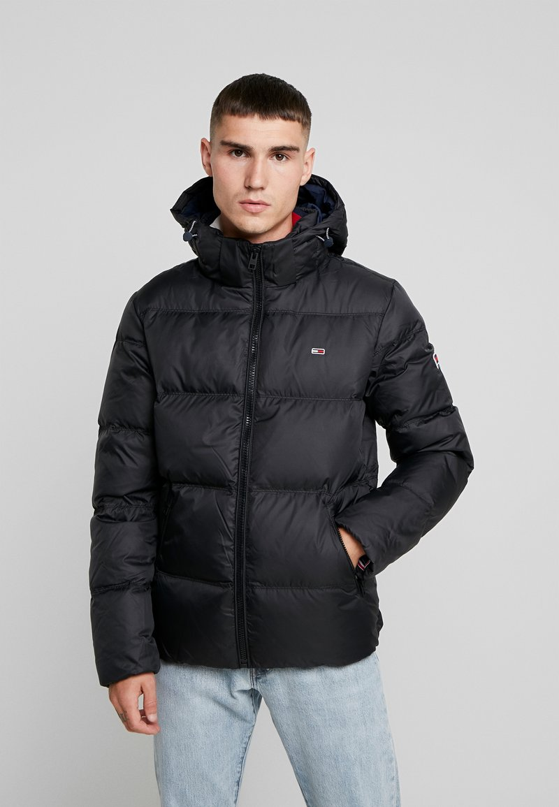 Tommy Jeans - ESSENTIAL JACKET - Down jacket - black