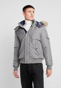 Tommy Jeans - TECH JACKET - Winter jacket - steel gray - 0