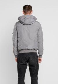 Tommy Jeans - TECH JACKET - Winter jacket - steel gray - 3