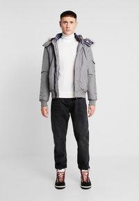 Tommy Jeans - TECH JACKET - Winter jacket - steel gray - 1