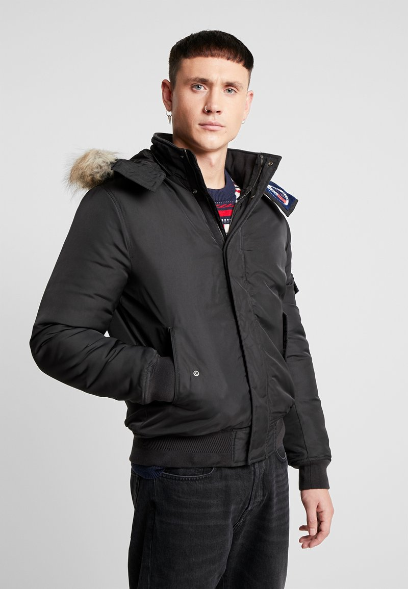 Tommy Jeans - TECH JACKET - Winter jacket - black