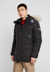 Tommy Jeans - Winter coat - black - 0