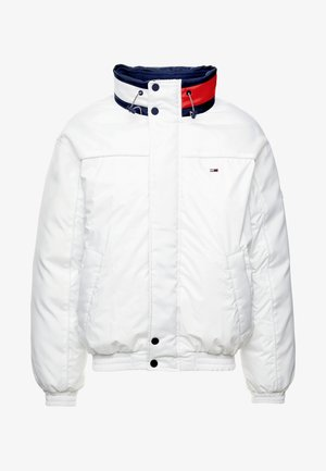 BRANDED COLLAR JACKET - Winterjas - classic white