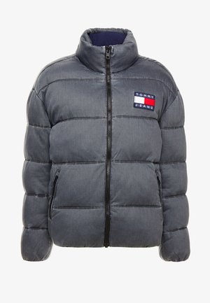 WASHED PADDED JACKET - Veste d'hiver - tommy black