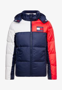 Tommy Jeans - ESSENTIAL COLORBLOCK JACKET - Winter jacket - black iris - 4
