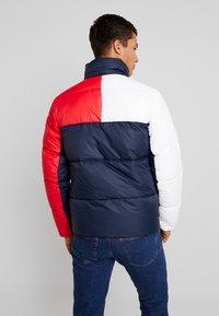 Tommy Jeans - ESSENTIAL COLORBLOCK JACKET - Winter jacket - black iris - 3