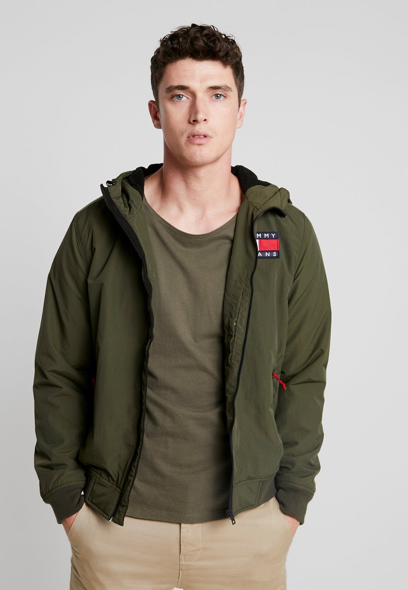 Tommy Jeans - JACKET - Übergangsjacke - forest night