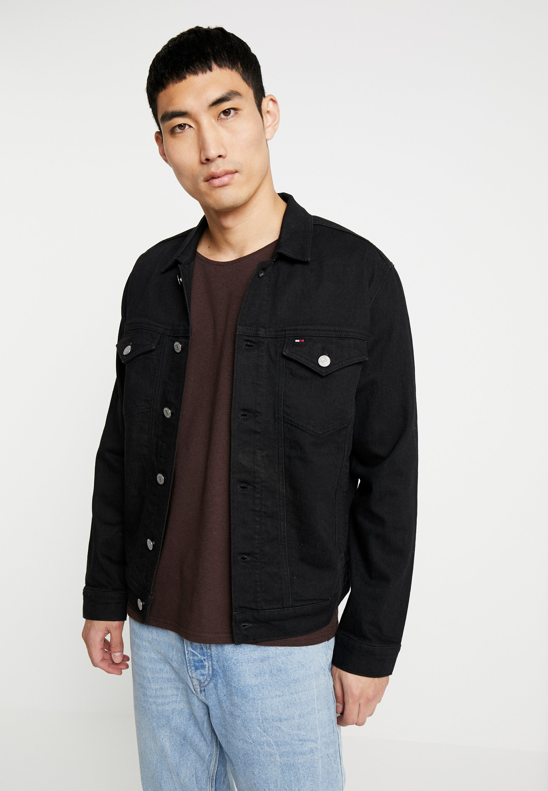 Tommy En Jean Regular Jeans Denim TruckerVeste Black DHEI2W9